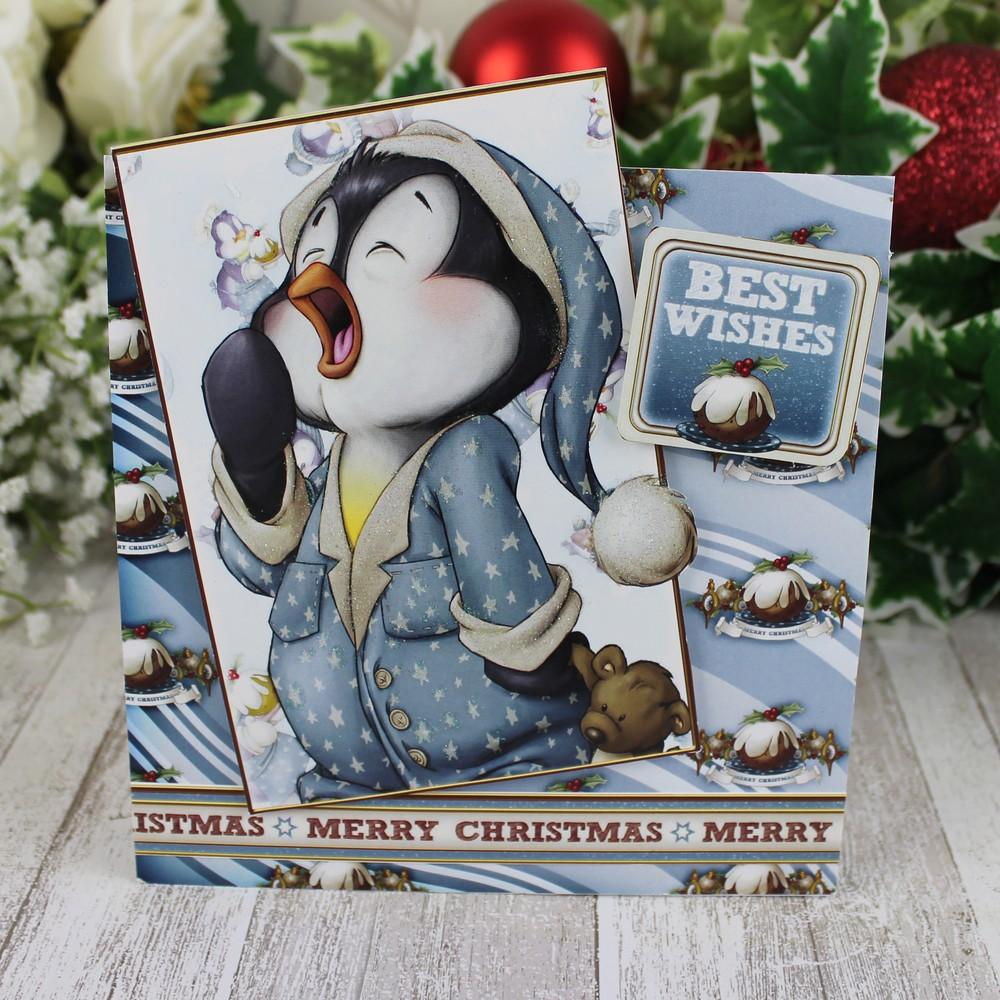 Party Penguins Card Making Kit