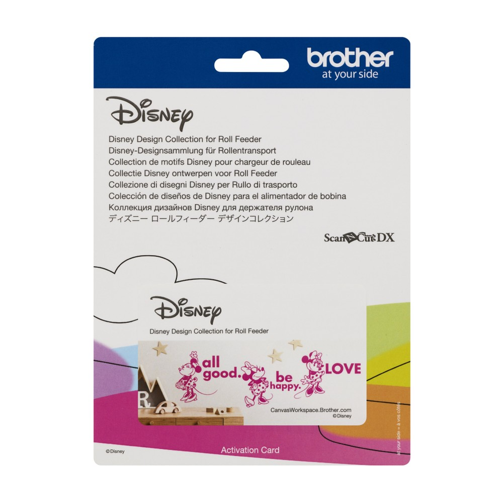 Brother ScanNCut SDX Disney™ Design Collection for Roll Feeder Activation Card - 24 Designs