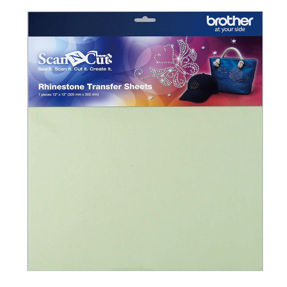 Brother ScanNCut Rhinestone Transfer Sheets