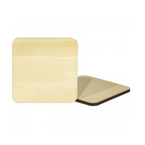 Makers Blanks Sublimation Wooden Coaster - Pack of 2