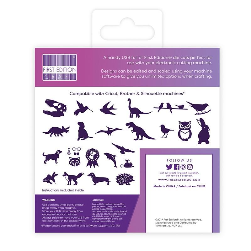 First Edition Digital Dies USB - Animals