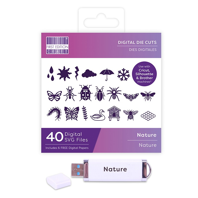 First Edition Digital Dies USB - Nature