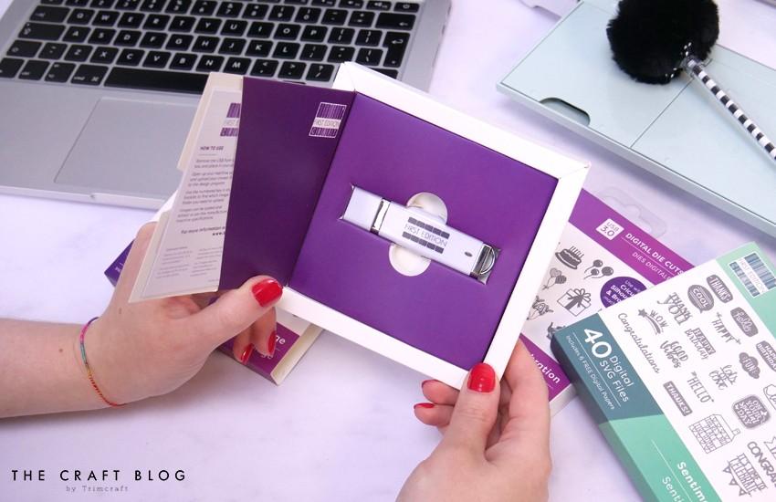First Edition Digital Dies USB - Shapes