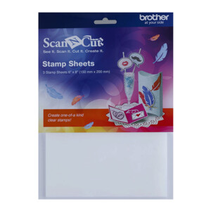 Brother ScanNCut Stamp Sheets 6 X 8