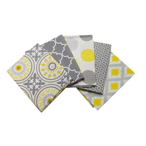 Yellow Matters Fat Quarter Pack X 5