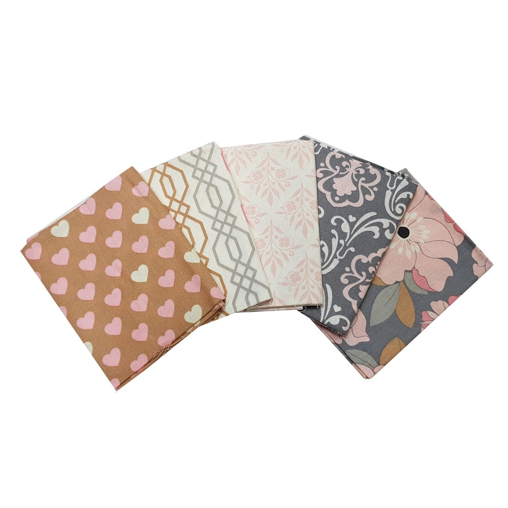 Craft Cotton Company With Love Fat Quarter Pack X 5