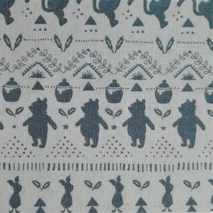 Disney™ Winnie the Pooh Woodland Silhouette Fabric X 1 Meter