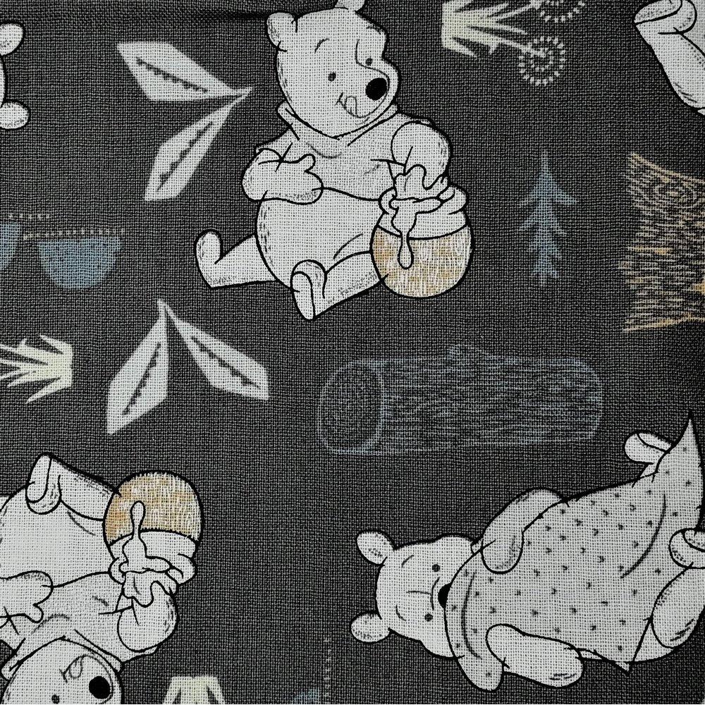 Disney™ Winnie the Pooh Woodland Grey Fabric X 1 Meter