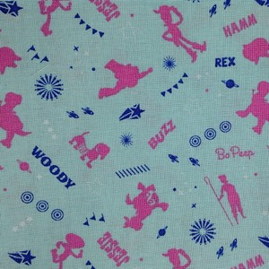 Disney™ Toy Story Blue Toys Fabric X 1 Meter