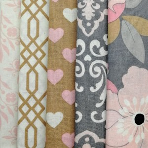 With Love Fat Quarter Pack X 5