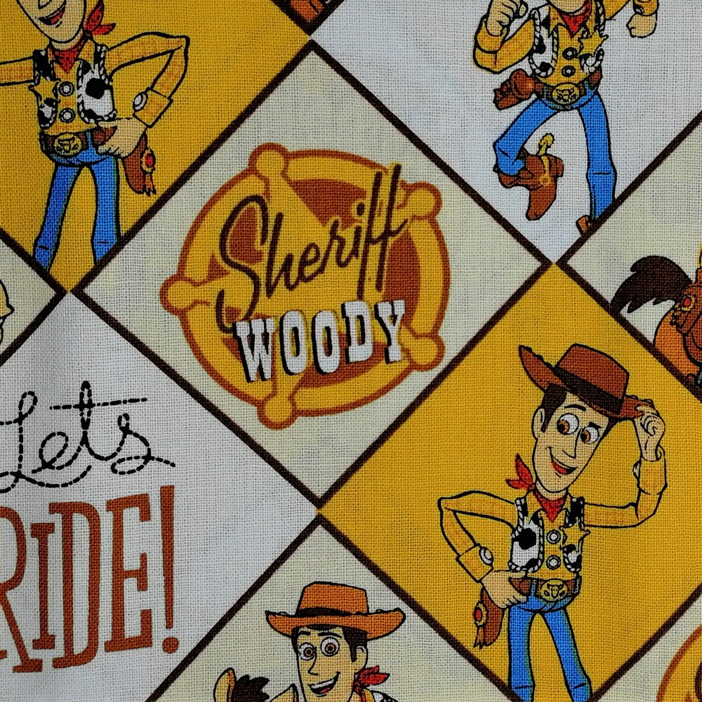 Disney™ Toy Story Woody Fat Quarter Pack X 4
