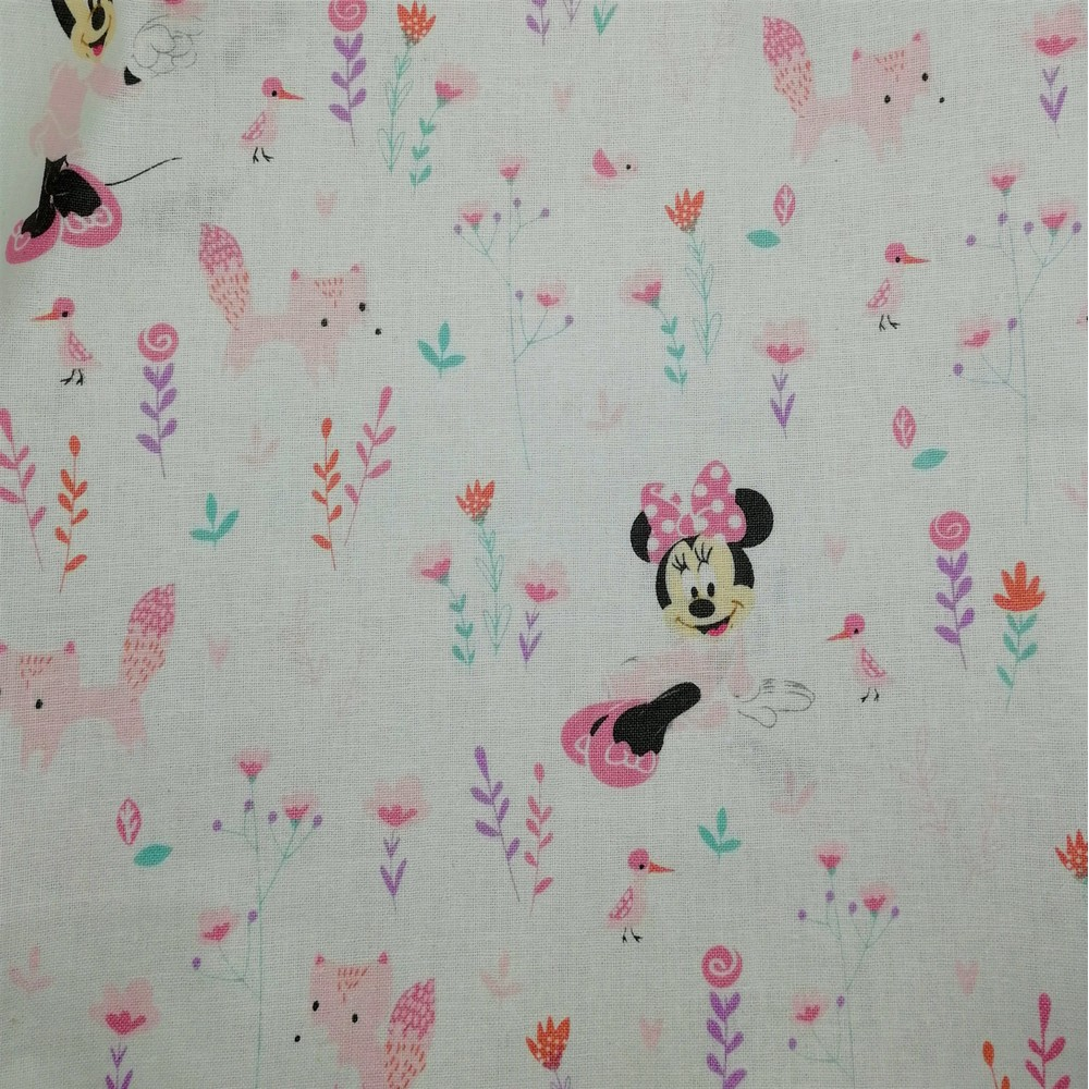 Disney™ Minnie Mouse and Little Fox Fabric X 1 Meter