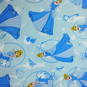 Disney™ Cinderella Cotton Fabric X 1 Meter