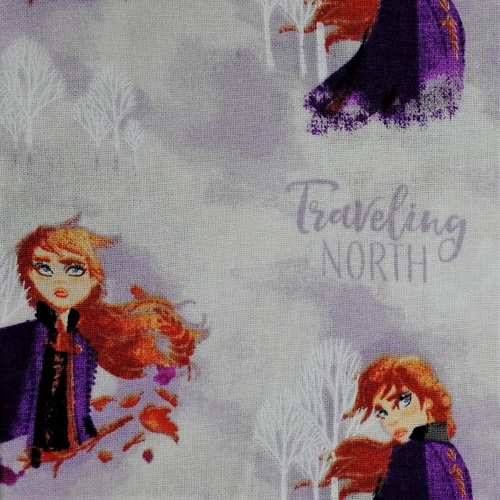 Disney™ Frozen 2 Anna Watercolour Fabric X 1 Meter