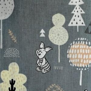 Disney™ Winnie the Pooh Woodland Blue Fabric X 1 Meter