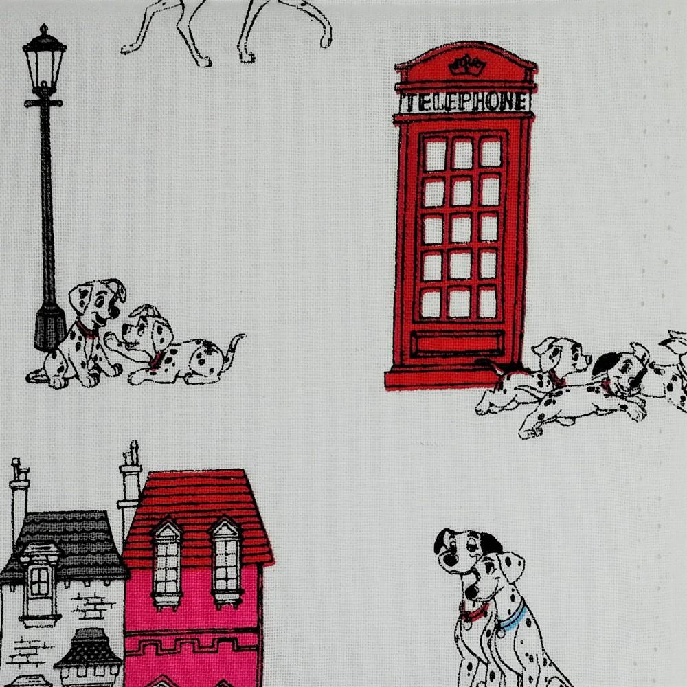 Disney™ 101 Dalmatians London Town Fabric X 1 Meter