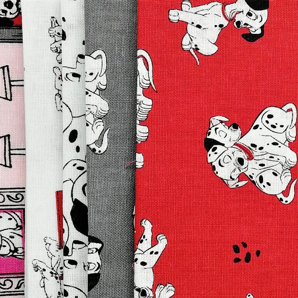 Disney™ 101 Dalmatians Fat Quarter Pack X 5