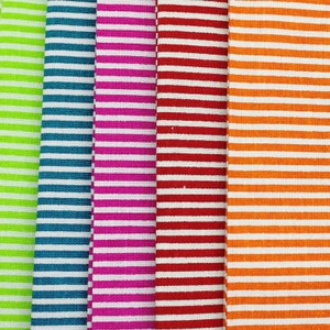 Craft Cotton Company Bright Stripes Fat Quarter Pack X 5