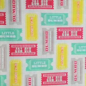 Disney™ Dumbo Multi Tickets Fabric X 1 Meter