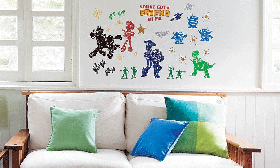 Brother ScanNCut Disney Card No5 - Toy Story Home-Deco Pattern Collection X 33 Designs