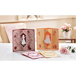 Brother ScanNCut Disney Card No6 - Snow White and Belle Paper Craft Collection X 30 Designs