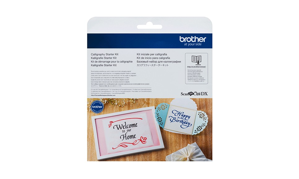 Brother ScanNCut SDX Calligraphy Starter Kit