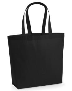 Makers Premium Cotton Maxi Tote Black