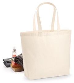 Makers Premium Cotton Maxi Tote Natural