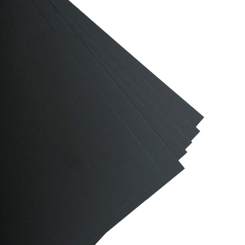 Makers 12X12 Premium Cardstock 260gsm X 30 Sheets Black