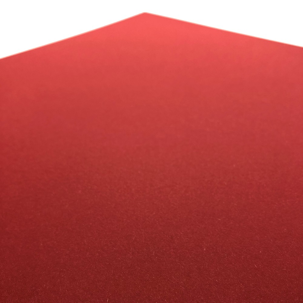 Makers 12X12 Premium Cardstock 260gsm X 30 Sheets Red