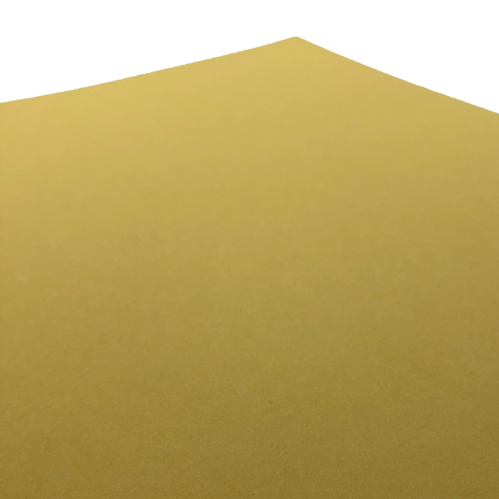 Makers 12X12 Premium Cardstock 260gsm X 30 Sheets Yellow