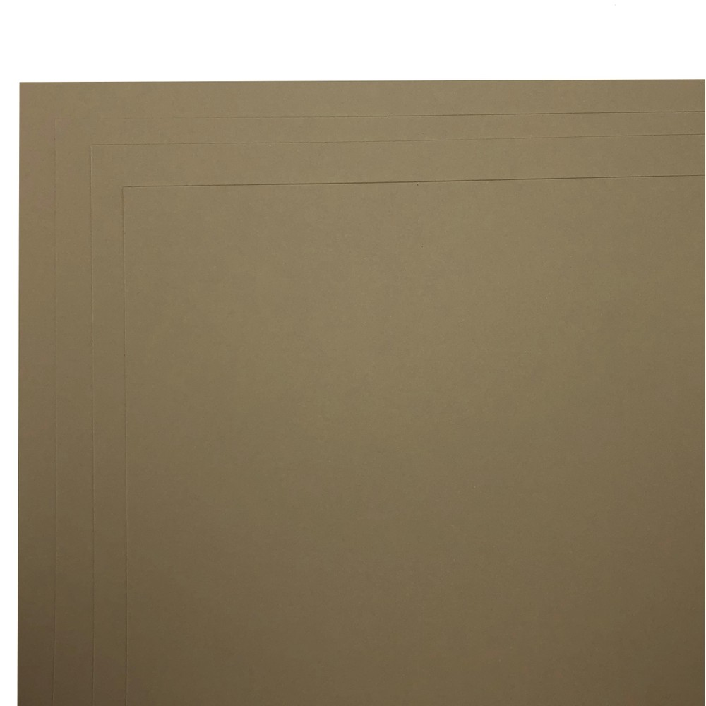 Makers 12X12 Premium Cardstock 260gsm X 30 Sheets Fawn