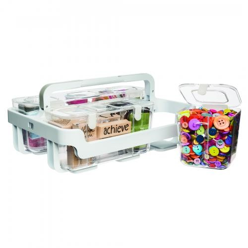 Deflecto Stackable Caddy Organiser System