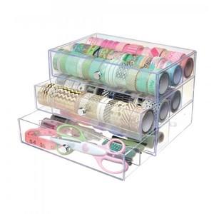 Deflecto Washi Tape 3 Drawer Organiser