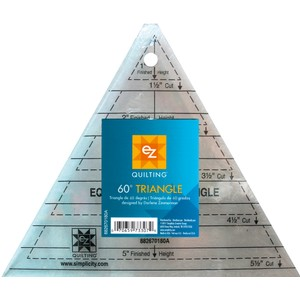 60 Degree Triangle Acrylic Template