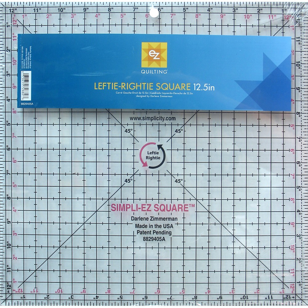 EZ Quilting Leftie-Rightie Square 12.5