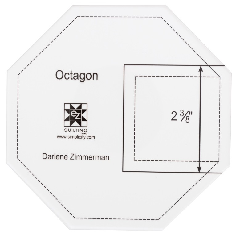 EZ Quilting Octagon Acrylic Template