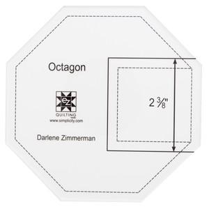 Octagon Acrylic Template