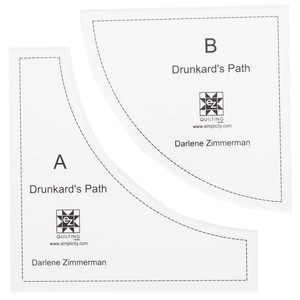 EZ Quilting Drunkards Path Acrylic Templates