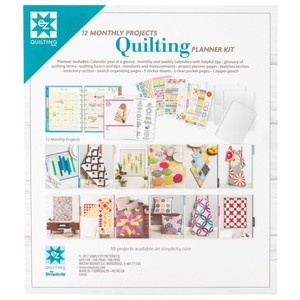 Deluxe Quilting Planner Kit Complete Collection