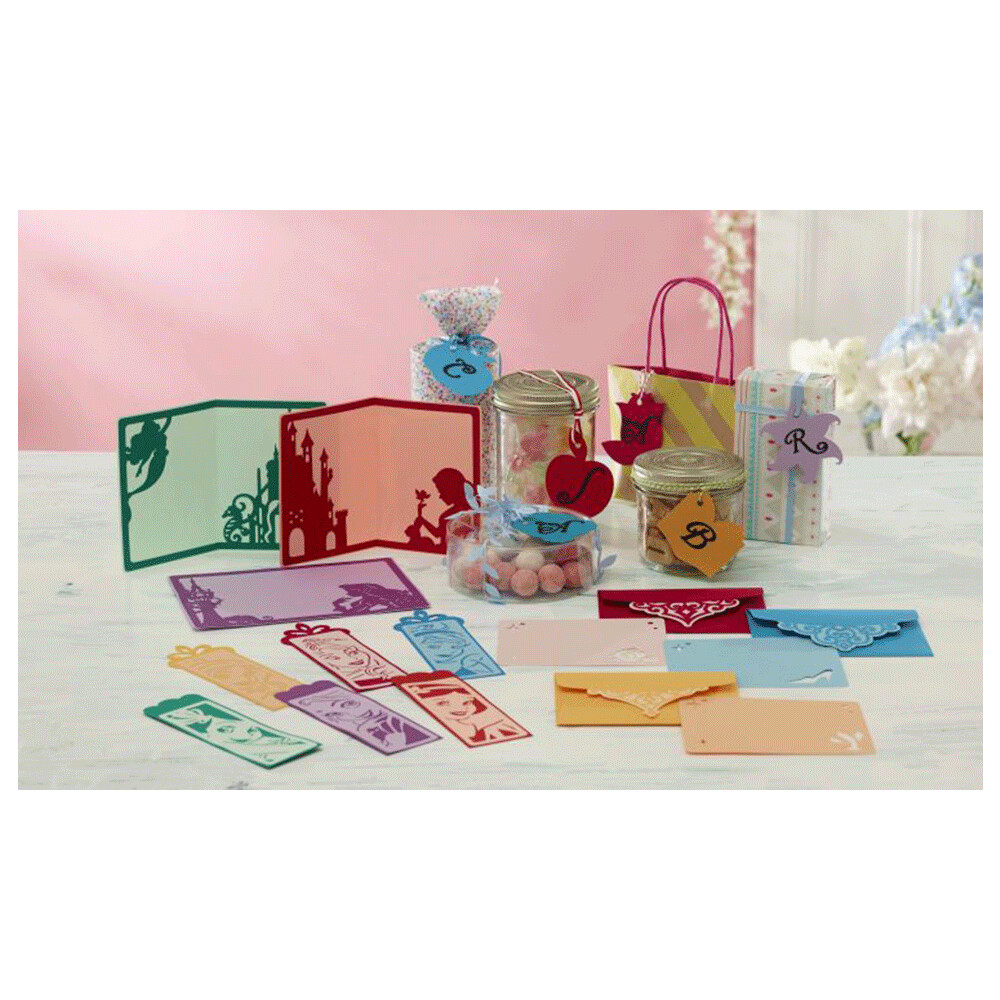 Brother ScanNCut Disney Card No2 - Princess Paper Craft Collection X 18 Designs
