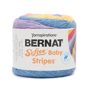 Bernat Softee Baby Stripes 120g Bright Future Stripe