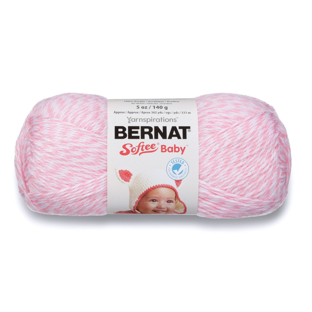 Bernat Softee Baby 120g Baby Pink Marl