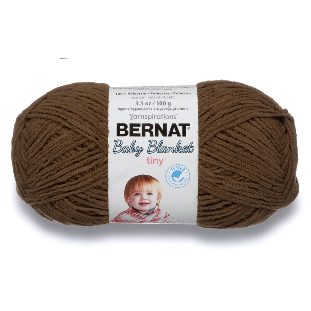 Bernat Baby Blanket Tiny 100g Brown Bear