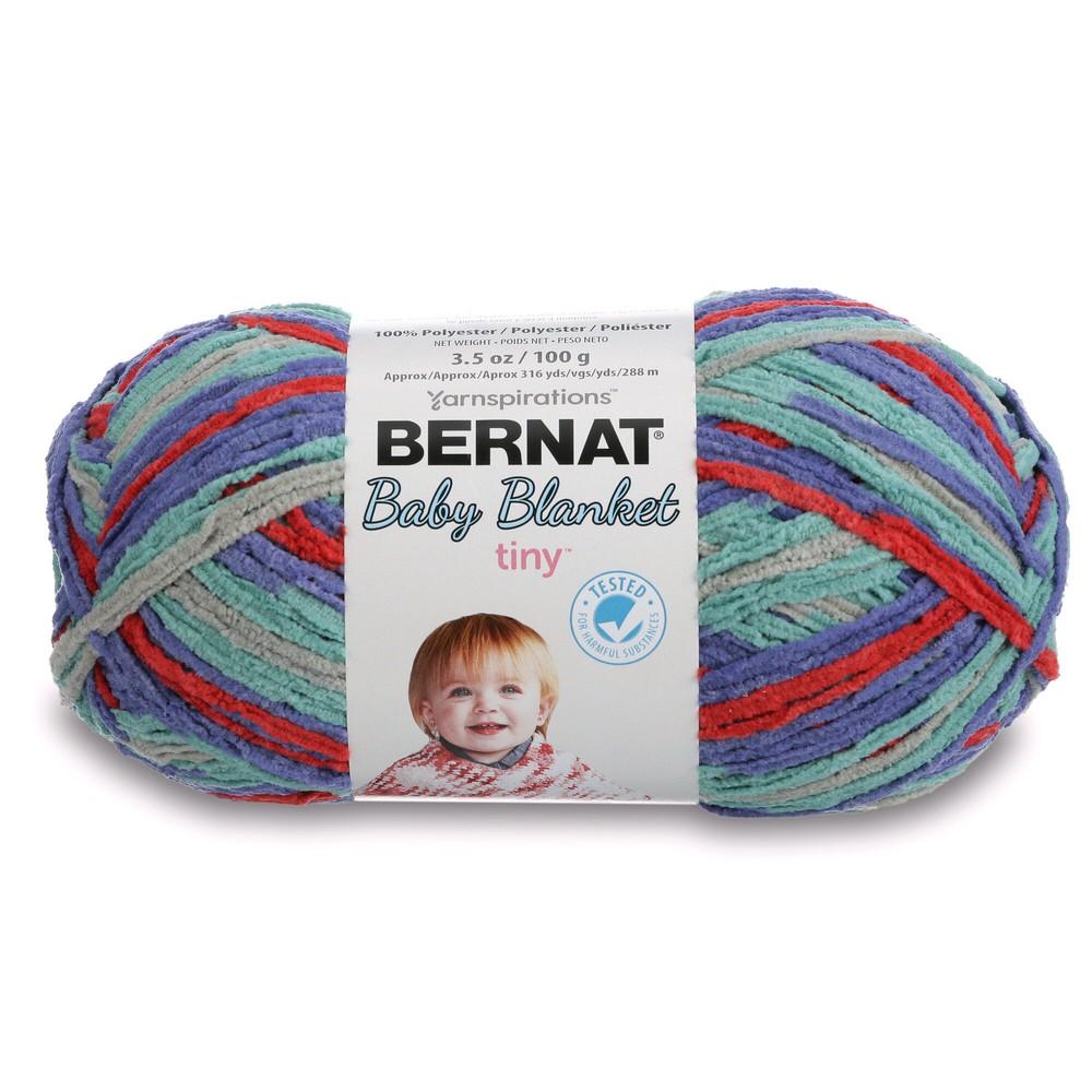 Bernat Baby Blanket Tiny 100g Calico Quilt