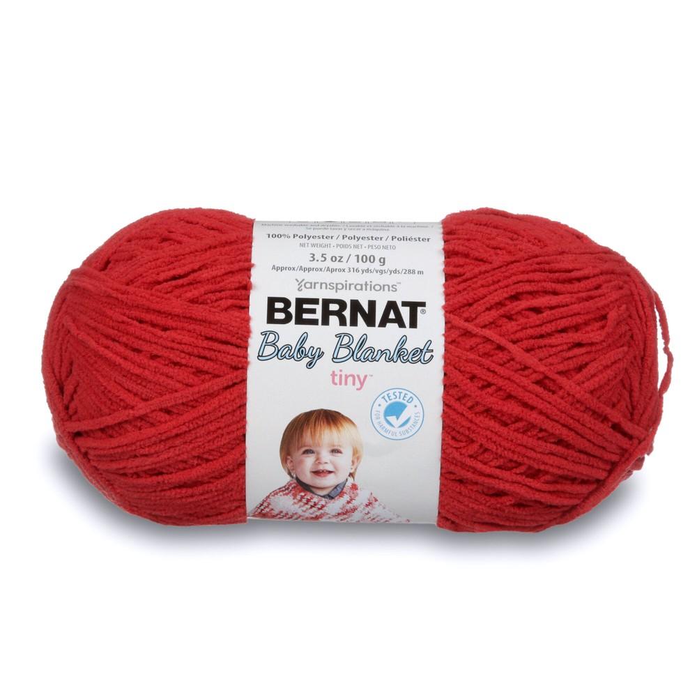 Bernat Baby Blanket Tiny 100g Red Barn