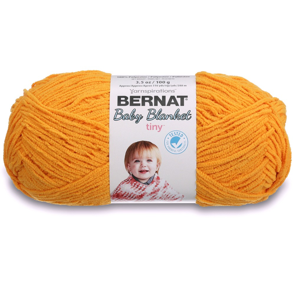 Bernat Baby Blanket Tiny 100g Sunflower
