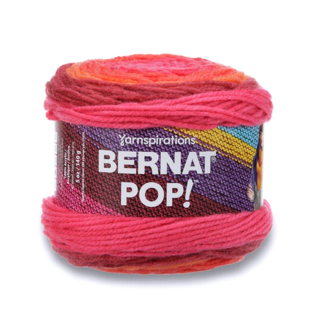 Bernat Pop! 140g Scarlet Sizzle