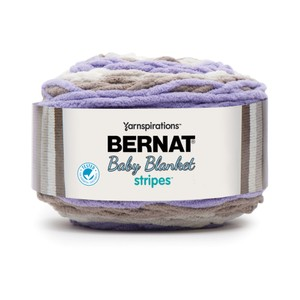 Bernat Baby Blanket Stripes 300g Mulberry Bush