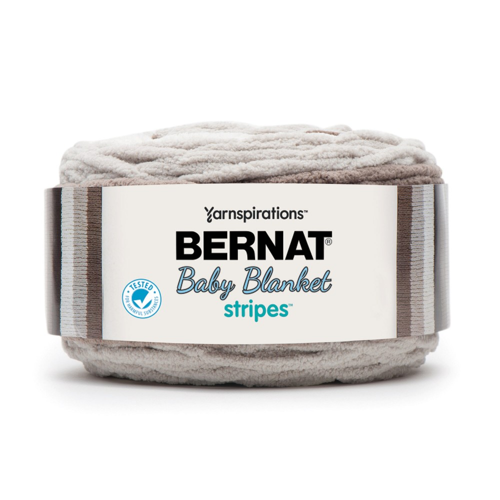 Bernat Baby Blanket Stripes 300g Sandbox